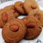 Vegan snack haverkoekjes met speculaaskruiden