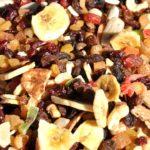 Gezonde snack: gedroogd fruit